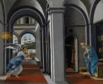 Живопись | Сандро Боттичелли | Благовещение, около 1493