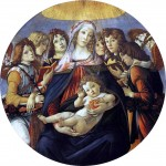 Живопись | Сандро Боттичелли | Мадонна с гранатом, около 1487