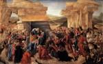 Живопись | Сандро Боттичелли | Поклонение волхвов, около 1500