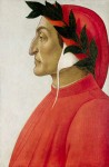 Живопись | Сандро Боттичелли | Портрет Данте, около 1495