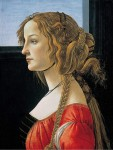 Живопись | Сандро Боттичелли | Портрет молодой женщины, около 1476-80
