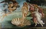Живопись | Сандро Боттичелли | Рождение Венеры, около 1485