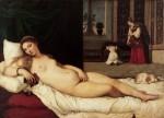 Живопись | Тициан Вечеллио | Венера Урбинская, 1538