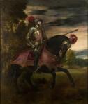 Живопись | Тициан Вечеллио | Конный портрет императора Карла V, 1548