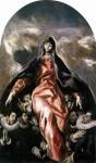 Живопись | Эль Греко | Мадонна Милосердия, 1604