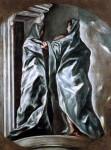 Живопись | Эль Греко | Посещение, 1610