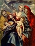 Живопись | Эль Греко | Святое Семейство, 1592