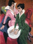 Живопись | Эрнст Людвиг Кирхнер | Две женщины