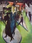 Живопись | Эрнст Людвиг Кирхнер | Потсдамская площадь, 1914