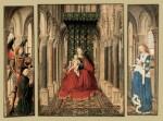 Живопись | Ян ван Эйк | Мадонна С Младенцем В Церкви, 1437