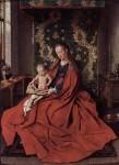 Живопись | Ян ван Эйк | Мадонна С Младенцем За Чтением, 1433