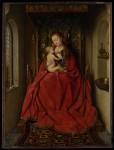 Живопись | Ян ван Эйк | Мадонна и Ребенок, 1436