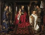Живопись | Ян ван Эйк | Мадонна каноника ван дер Пале, 1436