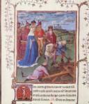 Живопись | Ян ван Эйк | Турино-Миланский часослов. Мастер G. Обретение Святого креста