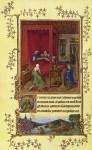 Живопись | Ян ван Эйк | Турино-Миланский часослов. Мастер G. Рождество Иоанна Крестителя