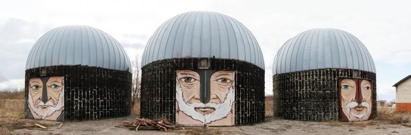 Никита Nomerz:                      обнажённый стрит-арт
