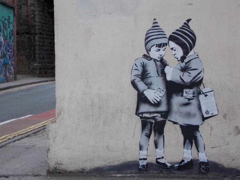 Уличный художник JPS
