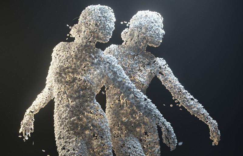 Мрамор и гортензии в руках Жана-Мишеля Биореля