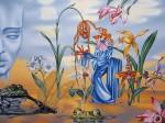 Живопись | Андрей Горенков | Добровольное сновидение или образ женщины, нарисованный воображением