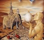 Живопись | Андрей Горенков | Медитация на тему вечности