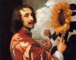 Живопись | Антонис ван Дейк | Автопортрет С Подсолнухом, 1632