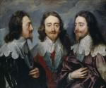 Живопись | Антонис ван Дейк | Карл I В Трёх Профилях, 1635-36