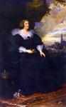 Живопись | Антонис ван Дейк | Портрет Марии Медичи, 1631