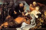 Живопись | Антонис ван Дейк | Самсон И Далила, 1620