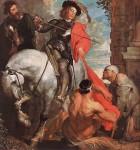 Живопись | Антонис ван Дейк | Святой Мартин и нищие, 1620-21