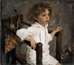Живопись | Валентин Серов | Мика Морозов, 1901