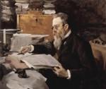 Живопись | Валентин Серов | Н. А. Римский-Корсаков, 1898