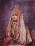 Живопись | Виктор Васнецов | Боярышня, 1884