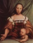 Живопись | Ганс Гольбейн Младший | Венера и Купидон, 1516-26
