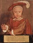 Живопись | Ганс Гольбейн Младший | Портрет Эдуарда VI в детстве, 1538