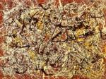 Живопись | Джексон Поллок | Mural On Indian Red Ground, 1950