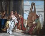 Живопись | Джованни Баттиста Тьеполо | Александр и Кампаспа у Апеллеса_1740