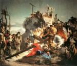 Живопись | Джованни Баттиста Тьеполо | Иисус несет крест, 1737-38