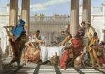 Живопись | Джованни Баттиста Тьеполо | Пир Клеопатры_1743-45