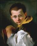Живопись | Джованни Баттиста Тьеполо | Портрет мальчика с книгой, 1747-50