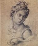 Живопись | Микеланджело | Клеопатра, 1533-34