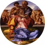 Живопись | Микеланджело | Мадонна Дони, 1507