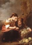 Живопись | Мурильо | Продавщица фруктов, 1670-75