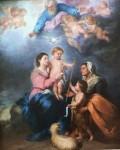 Живопись | Мурильо | Святое Семейство, 1665-70