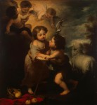 Живопись | Мурильо | Христос и Иоанн Креститель в детстве, 1655-60