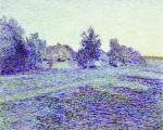 Живопись | Николай Мещерин | Перед рассветом (В июньскую ночь)