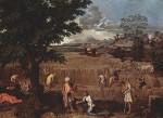 Живопись | Никола Пуссен | Времена Года | Лето (Руфь и Вооз), 1660-64