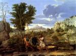 Живопись | Никола Пуссен | Времена Года | Осень (Дары Земли Обетованной), 1660-64