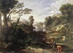 Живопись | Никола Пуссен | Пейзаж С Диогеном, 1647