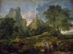 Живопись | Никола Пуссен | Пейзаж с Полифемом, 1649