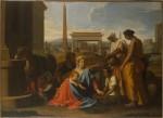 Живопись | Никола Пуссен | Святое Семейство в Египте, 1655-57
